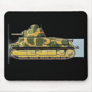 Combat Tank Mouse Pad