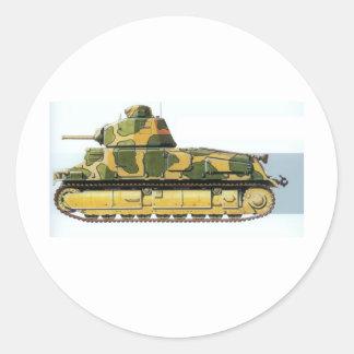 Combat Tank Round Sticker