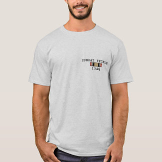 Combat Veteran Iraq Shirt
