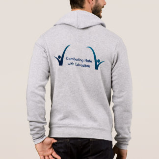 Combating Hate Full-Zip Hoodie
