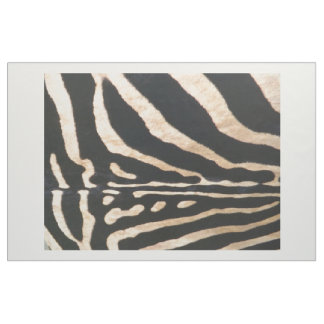 "Combed Cotton (56"" width) Fabric Zebra Print"