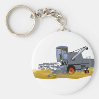 Combine Harvester Key Ring