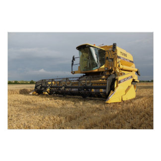 Combine Harvester Poster