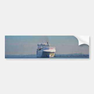 Combined Ferry And Container Ship Bumper Stickers