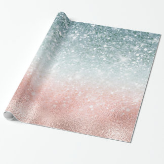 Combo Glitter Gradient Glass ID434 Wrapping Paper