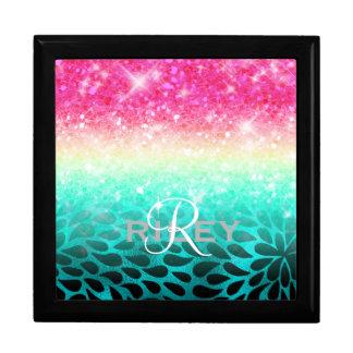 Combo Glitter Gradient to Petals ID433 Gift Box