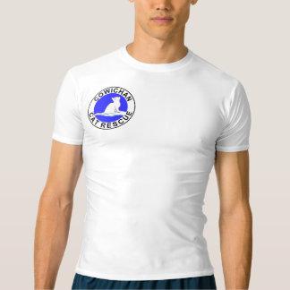 Combo: logo/rainbow cat, white fill T-Shirt