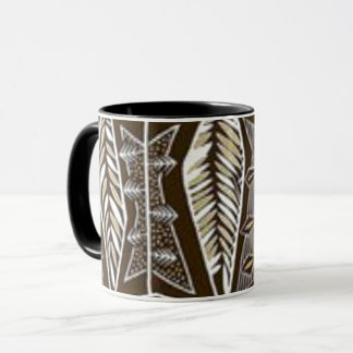 Combo Mug Brown Design