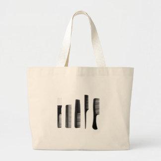 Combs Large Tote Bag