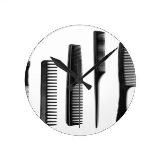 Combs Round Clock