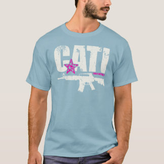 Come And Take It AR15 T-Shirt - Cream & Pink