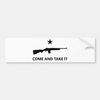 COME AND TAKE IT - Mini-14 Ranch Rifle Bumper Sticker