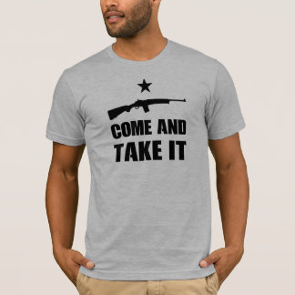 COME AND TAKE IT - Mini-14 Ranch Rifle Stacked T-Shirt