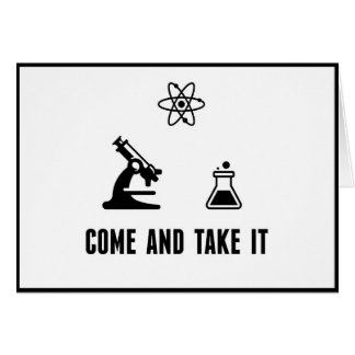 Come and Take It Science Card