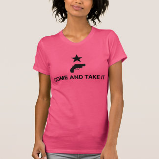 Come and Take It with Revolver - Pink T-Shirt