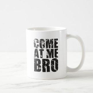 Come At me Bro Basic White Mug