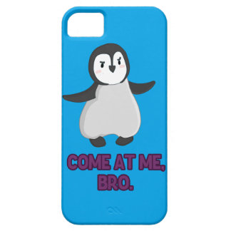 Come at Me, Bro Penguin Barely There iPhone 5 Case