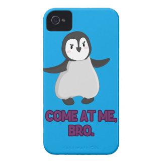 Come at Me, Bro Penguin Case-Mate iPhone 4 Case