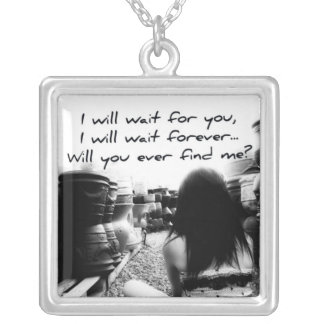 Come Back to Me Silver Plated Necklace