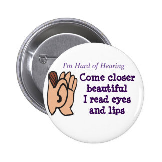 Come Closer I read eyes and lips badge