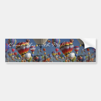 COME FLY WITH ME by SHARON SHARPE Bumper Sticker
