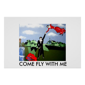 COME FLY WITH ME POSTER
