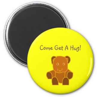 Come Get A Hug! - magnet