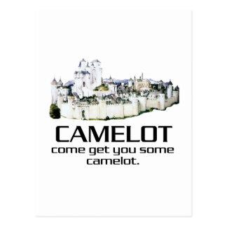 Come Get You Some Camelot. Postcard