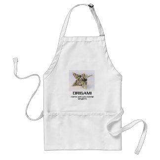 Come Get You Some Origami Standard Apron