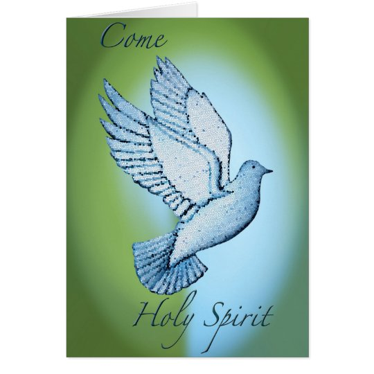 Come Holy Spirit Card