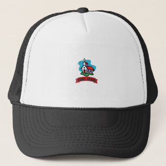 come home to church trucker hat