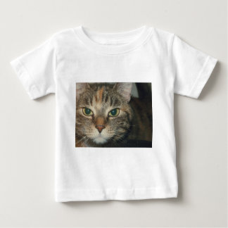 """""""Come if you dare"""" says the cat Baby T-Shirt"""