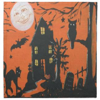 Come in Dearie vintage Halloween Napkin