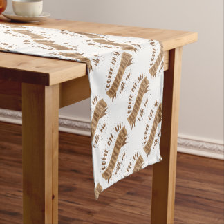 come on an adventure with me short table runner