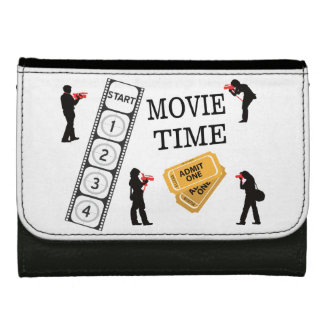 Come One Come All It's Movie Time Wallet