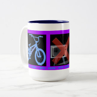 Come out and play Two-Tone coffee mug