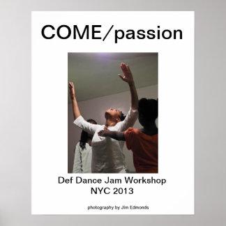 COME/passion Poster