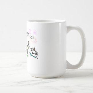 """""""Come play with us"""" Coffee Mug"""
