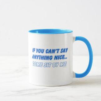 Come Sit By Me Mug