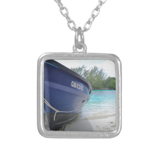 Come Take A Ride Silver Plated Necklace