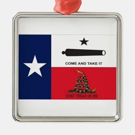 come take it christmas ornament