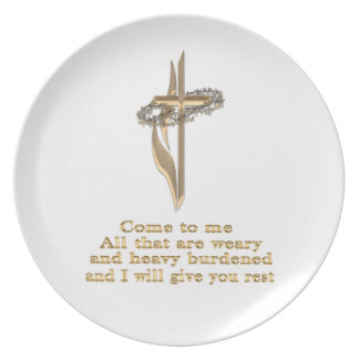 Come to me al ye that are plate