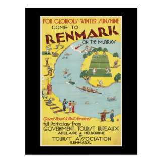 come to Renmark on the Murray Post Cards