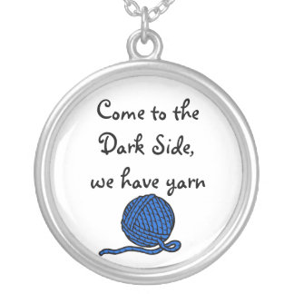 Come to the Dark Side we have yarn Pendant