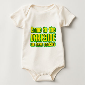 Come to the Darkside we have Cookies Baby Bodysuit