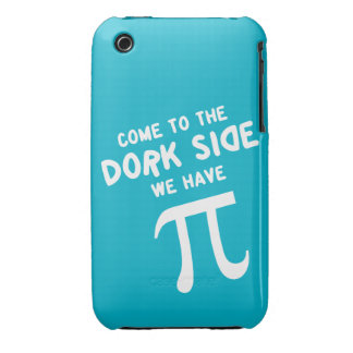 come to the dork side, we have pi! iPhone 3 Case-Mate case