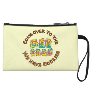 Come to the Gay Side We Have Cookies Wristlet