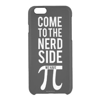 Come To The Nerd Side Clear iPhone 6/6S Case