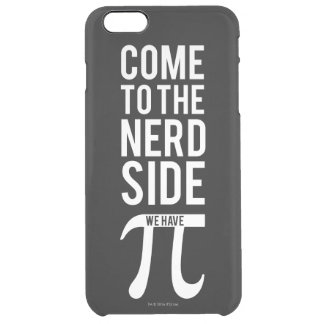 Come To The Nerd Side Clear iPhone 6 Plus Case
