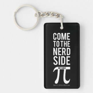 Come To The Nerd Side Key Ring